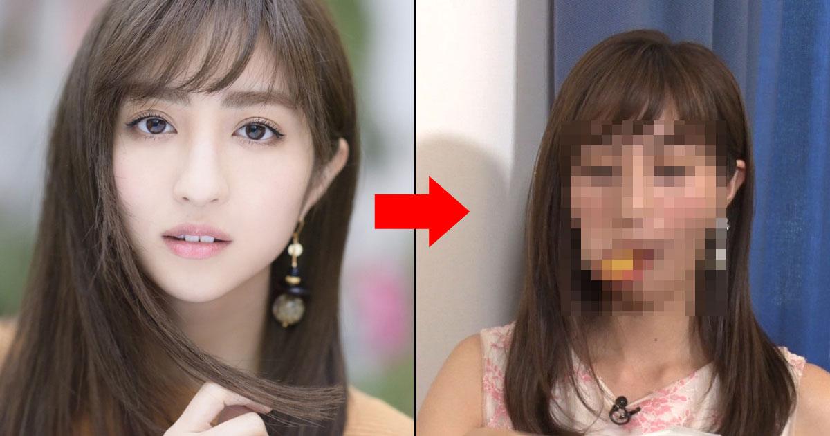 """นางแบบสาวสวย """"Hotta Akane"""" ยัดลูกปิงปอง 2 ลูก เข้าปากแล้วจะเป็นอย่างไร?"""