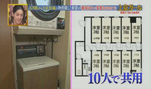 เครื่องซักผ้าเป็นแบบส่วนรวม 10 คน