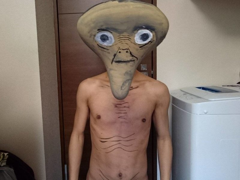 คอสเพลย์เป็น E.T.