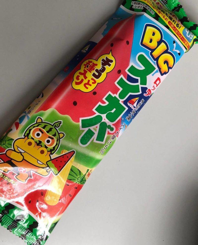 ไอติมแท่งแตงโมของญี่ปุ่น