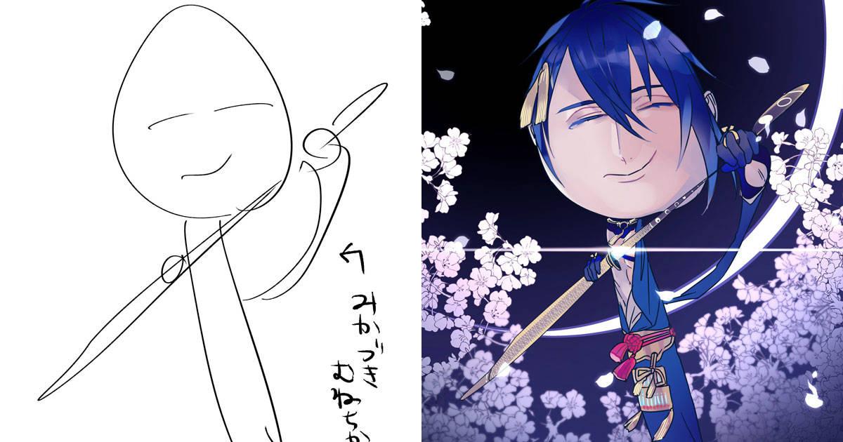 ถ้านักวาดญี่ปุ่นเอาภาพร่างที่คนอื่นเขียนภายใน10วิ มาวาดต่อจนเสร็จจะเกิดอะไรขึ้น?