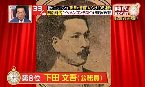 อันดับ 8 : ชิโมะดะ บุนโกะ (ข้าราชการ) 下田文吾