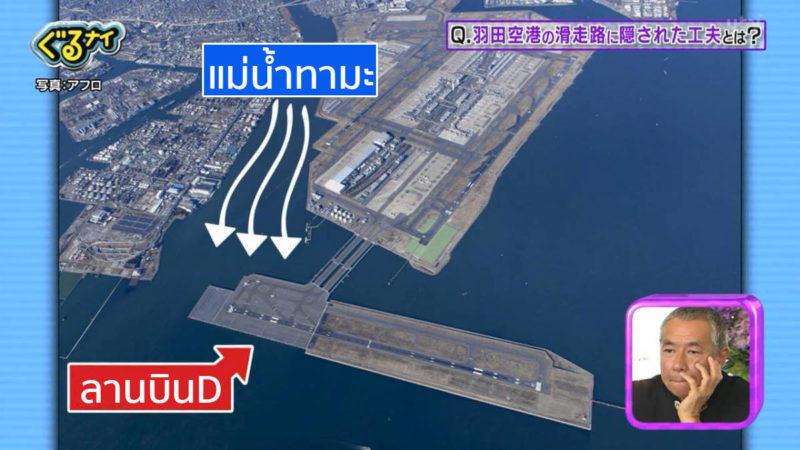 สถานที่ตั้งลานบิน D ของสนามบินฮาเนดะ