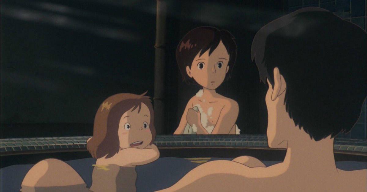 """ชาวต่างชาติตกใจกับ """"ฉากอาบน้ำของอนิเมะญี่ปุ่น""""! ถ้าเป็นอเมริกาโดนฟ้องไปแล้ว!"""