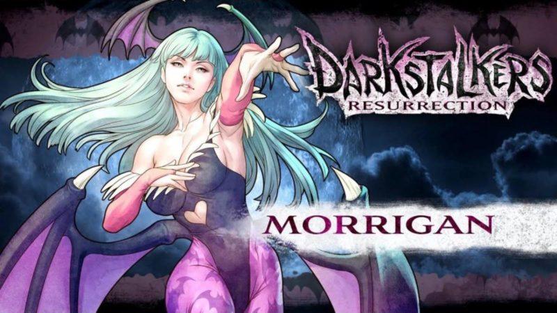 "Morrigan Aensland จาก ""Darkstalkers"""