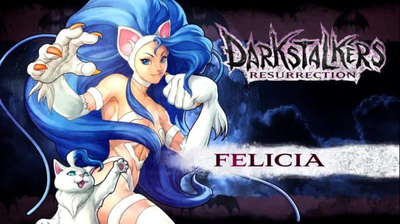"""Felicia จาก """"Darkstalkers"""""""