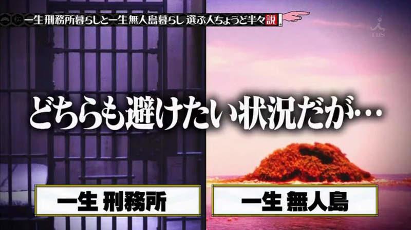 """""""อยู่ในคุกตลอดชีวิต"""" และ """"อยู่บนเกาะร้างตลอดชีวิต"""""""